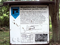 Megalithisches Ganggrab bei Lütow Usedom
